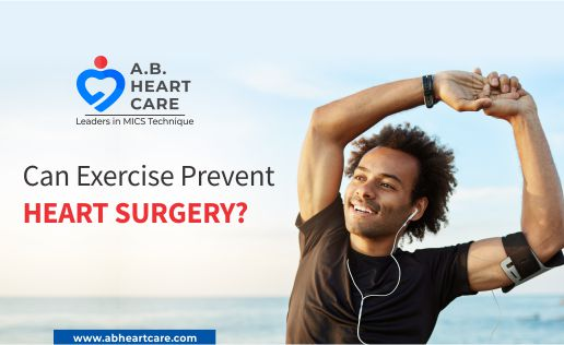 Can exercise prevent heart surgery?