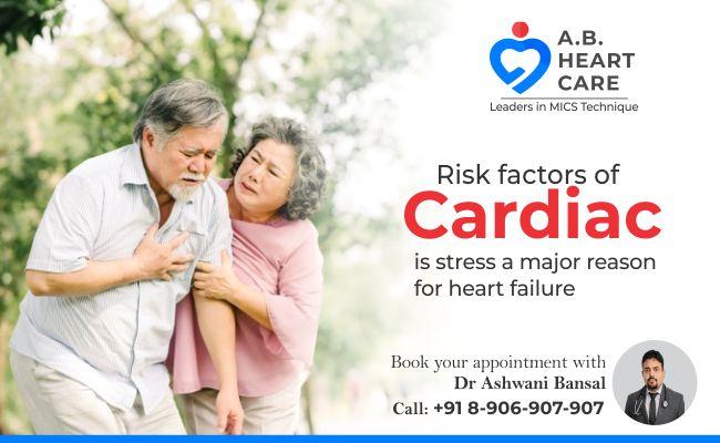 Is stress a major reason for heart failure
