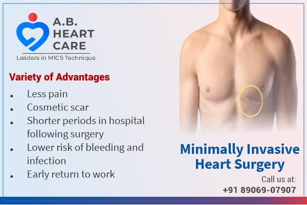 benefits of minimally invasive cardiac surgery